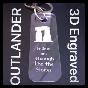 Accessories, Follow me, Outlander Key Ring, Lucite